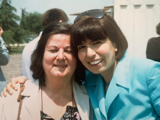 Giuseppina Ciuffreda e Angela Pascucci
